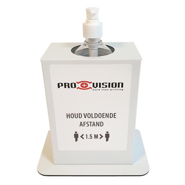 Hygiëne Desinfectie-zuil Basic Tafel Wit