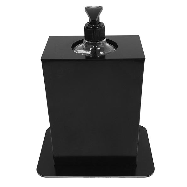 Hygiëne Desinfectie-zuil Basic Tafel Zwart