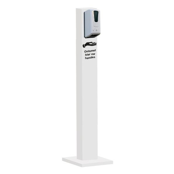 Hygiëne Zuil Basic Automatische Dispenser Wit