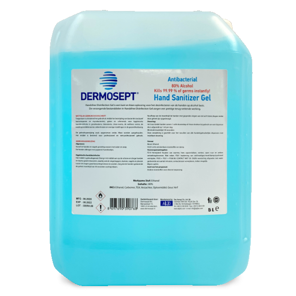 5L Desinfectie Gel 80%