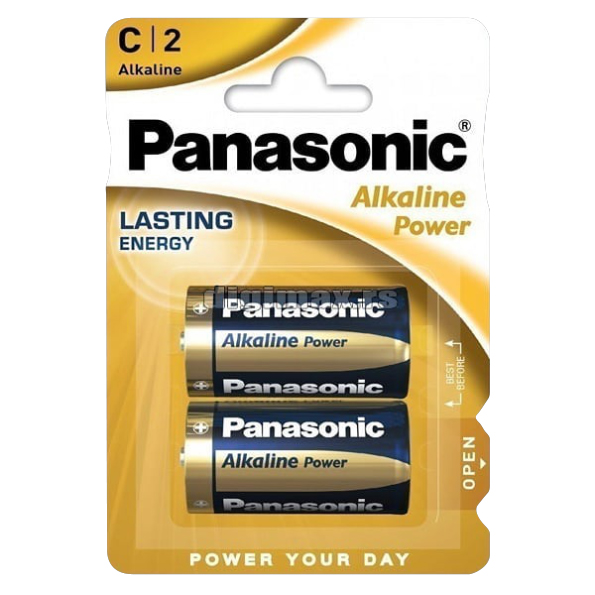 Panasonic Alkaline Power C2